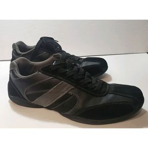 Perry Ellis Men's Suede Leather Sneakers